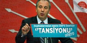 Duyduklarından sonra CHP'li İnce'nin ''Tansiyonu'' düştü