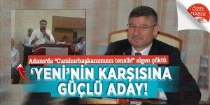"""Adana'da """"Cumhurbaşkanımızın tensibi"""" algısı çöktü: Yeni'nin karşısına güçlü aday!"""