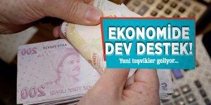 Ekonomide dev destek! Yeni teşvikler geliyor…