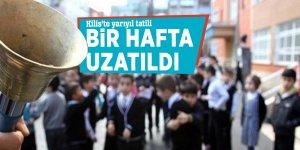 Kilis'te yarıyıl tatili bir hafta uzatıldı