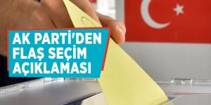 AK Parti'den flaş seçim açıklaması