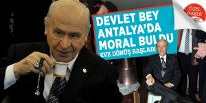 Devlet Bey Antalya'da moral buldu