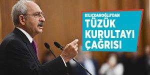 CHP Lideri Kılıçdaroğlu'dan tüzük kurultayı çağrısı