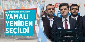 AK Parti Ankara İl Başkanlığına  Yamalı yeniden seçildi