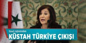 Esad rejiminden küstah Türkiye çıkışı