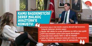 Kamu Başdenetçisi Şeref Malkoç AVAZTÜRK'e konuştu