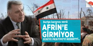 Suriye kararını verdi Afrin'e girmiyor! Suriye PKK/YPG'yi reddetti…