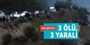 Facia gibi kaza: 3 ölü, 3 yaralı