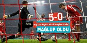Beşiktaş Bayern Münih'e deplasmanda mağlup oldu