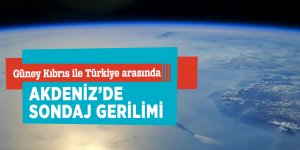 Güney Kıbrıs ile Türkiye arasındaAkdeniz'de sondaj gerilimi