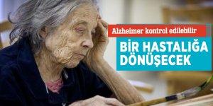 Alzheimer kontrol edilebilir bir hastalığa dönüşecek