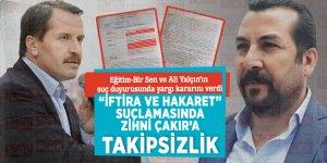 Eğitim-Bir Sen ve Ali Yalçın'ın suç duyurusunda yargı kararını verdi