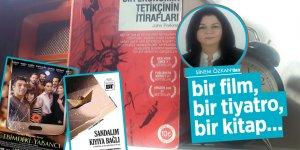 Sinem Özkan'dan bir film, bir tiyatro, bir kitap…