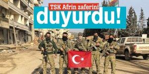 TSK Afrin zaferini duyurdu!