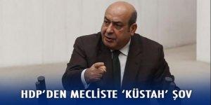 HDP'den mecliste 'küstah' şov!