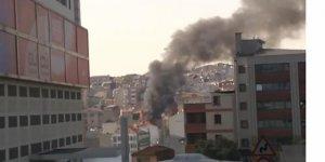 İstanbul'un kalbinde yangın!
