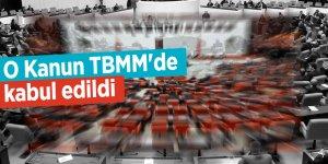 KDV Kanunu TBMM'de kabul edildi