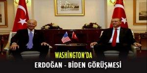 Erdoğan ABD Başkan Yardımcısı Biden ile görüştü.