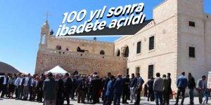 Batman'da manastır 100 yıl sonra ibadete açıldı