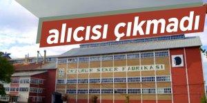 Erzurum Şeker Fabrikası ihalesinde alıcı çıkmadı