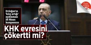 Erdoğan'ın 'kılıç artığı' açıklaması 26 Nisan kumpasının KHK evresini çökertti mi?