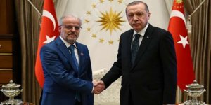 Cumhurbaşkanı Erdoğan, Caferi'yi kabul etti