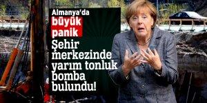 Almanya'nın göbeğinde yarım tonluk bomba bulundu!