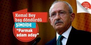 """Kemal Bey baş döndürdü şimdide """"parmak adam aday"""""""