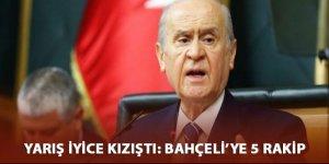 MHP'de başkanlık aslanın ağzında: Bahçeli'ye 5 rakip
