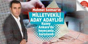 Mehmet Solmaz'ın Milletvekili Aday Adaylığı Kuzey Ankara'da heyecanla karşılandı