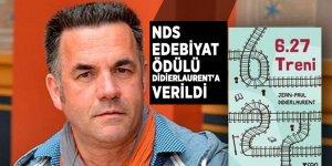 NDS Edebiyat Ödülü Didierlaurent'a verildi