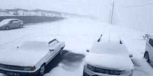Mayıs ayının ortasında kar yağdı!