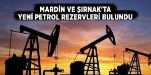 Mardin ve Şırnak'ta yeni petrol rezervleri bulundu