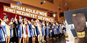 İhtisas Koleji ikinci mezunlarını verdi!
