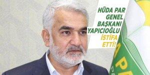 HÜDA PAR Genel Başkanı Zekeriya Yapıcıoğlu istifa etti!