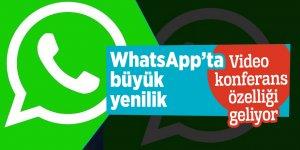 WhatsApp'ta büyük yenilik! Video konferans özelliği geliyor
