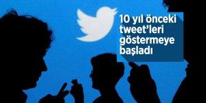 Twitter 10 yıl önceki tweet'leri göstermeye başladı