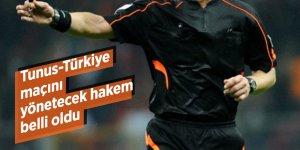 Tunus-Türkiye maçını yönetecek hakem belli oldu