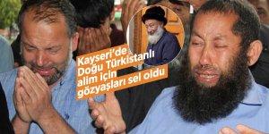 Kayseri'de Doğu Türkistanlı alim için gözyaşları sel oldu