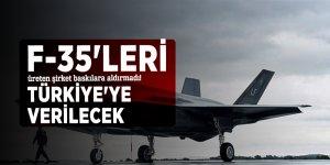F-35'leri üreten şirket baskılara aldırmadı! Türkiye'ye verilecek