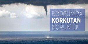 Bodrum'da korkutan görüntü!