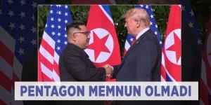 Pentagon, Trump'ın 'Güney Kore' kararından memnuniyetsiz