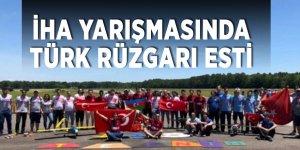 İHA yarışmasında Türk rüzgarı esti