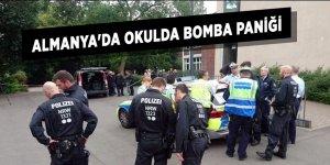 Almanya'da okulda bomba paniği