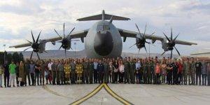 Silahlı kuvvetlerin altıncı 'uçan kale'si Türkiye'ye getirildi