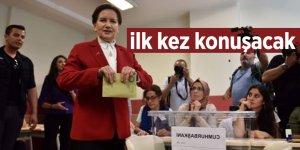 Meral Akşener seçim sonrası ilk kez konuşacak