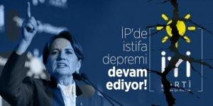İP'de istifa depremi devam ediyor!