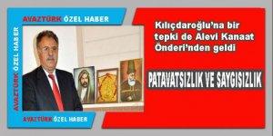 Kılıçdaroğlu'na bir tepki de Alevi Kanaat Önderi'nden geldi!