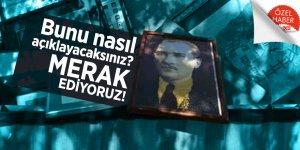 Ankara'daki o okuldan büyük provokasyon: Atatürk portrelerini çöpe attılar!