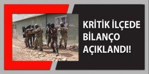 Kritik ilçe Nusaybin'de bilanço açıklandı!
